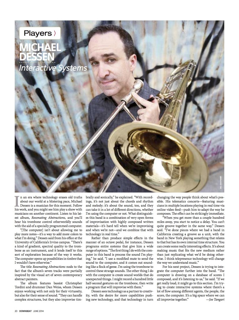 downbeatProfileJune2014